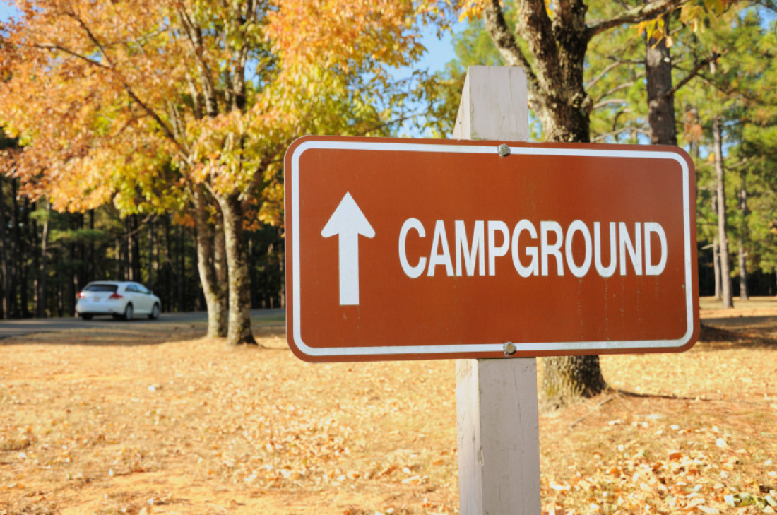 """Campground Sign"""