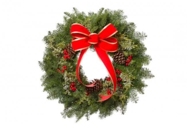 """Holiday Wreath"""